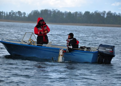 Fisketur på Boren, Torpa Gård