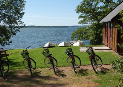 cyklar på stranden, Torpa Gård