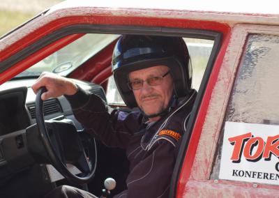 Rallyförare på Torpa Gård