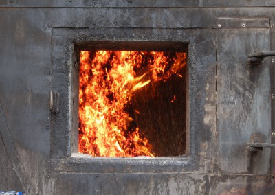 Värmepannan på Torpa Gård