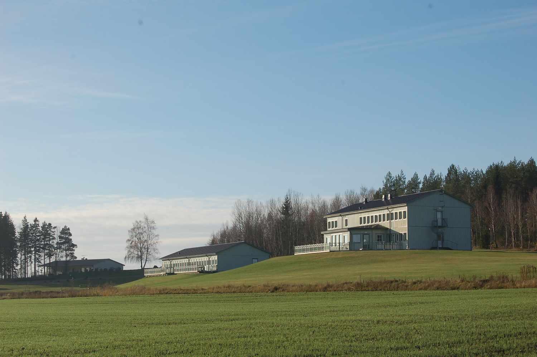 Utsikt över Torpa Gårds hotell
